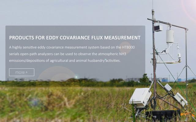 Open-path atmospheric ammonia analyzer for eddy covariance flux mersurement
