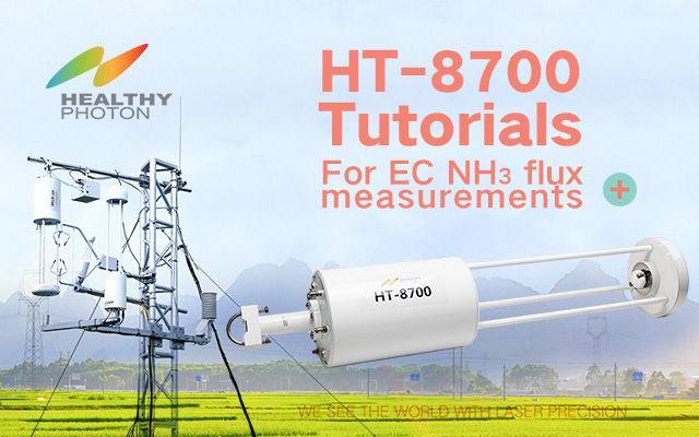 HT-8700 tutorials for EC ammonia flux measurement